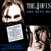 Click here for more info about 'The 4 Of Us - She Hits Me'