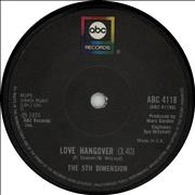Click here for more info about 'The 5th Dimension - Love Hangover'