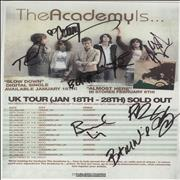 Click here for more info about 'UK Tour - Autographed'
