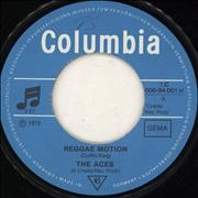 "The Aces (Reggae) Reggae Motion Germany 7"" vinyl"