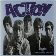 The Action Brain The Lost Recordings 1967-1968 UK vinyl LP