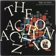 "The Action I'll Keep Holding On UK 7"" vinyl"