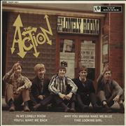 "The Action In My Lonely Room UK 10"" vinyl"