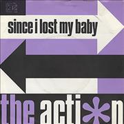 "The Action Since I Lost My Baby UK 7"" vinyl"