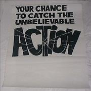 The Action Your Chance To Catch The Unbelievable Action UK poster Promo