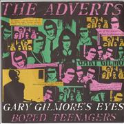Click here for more info about 'The Adverts - Gary Gilmore's Eyes - 4 prong + Sleeve'