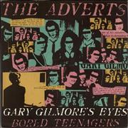 "The Adverts Gary Gilmore's Eyes - Solid + Sleeve/Pink UK 7"" vinyl"
