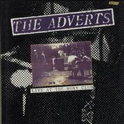 Click here for more info about 'The Adverts - Live At The Roxy Club - Autographed'