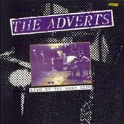 Click here for more info about 'The Adverts - Live At The Roxy Club'