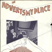 "The Adverts My Place - EX UK 7"" vinyl"