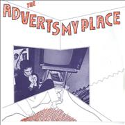 Click here for more info about 'The Adverts - My Place'