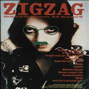 Click here for more info about 'The Adverts - Zig Zag Magazine No. 82'