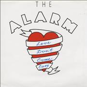 Click here for more info about 'The Alarm - Love Don't Come Easy - Poster Sleeve'