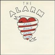 Click here for more info about 'The Alarm - Love Don't Come Easy - die cut sleeve'