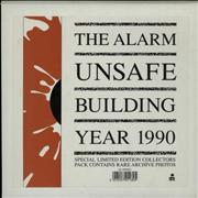 Click here for more info about 'The Alarm - Unsafe Building 1990 - Collectors Pack'