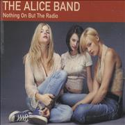 Click here for more info about 'The Alice Band - Nothing On But The Radio - sitting on floor'