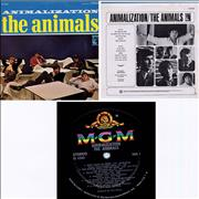 Click here for more info about 'The Animals - Animalization - Stereo - Black Label'