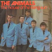 Click here for more info about 'The Animals - The House Of The Rising Sun EP + Sleeve - EX'