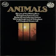Click here for more info about 'The Animals - The Most Of - barcoded p/s'