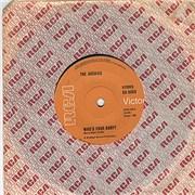 "The Archies Who's Your Baby? Australia 7"" vinyl"