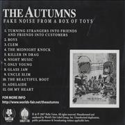 Click here for more info about 'The Autumns - Fake Noise From A Box Of Toys'