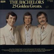 Click here for more info about 'The Bachelors - 25 Golden Greats - Fully Autographed'