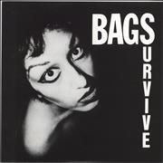 """The Bags (Punk) Survive Spain 7"""" vinyl"""