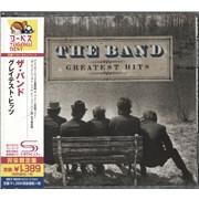The Band Greatest Hits Japan SHM CD