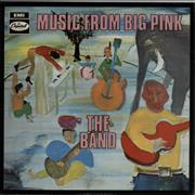 The Band Music From Big Pink - 1st UK vinyl LP