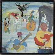 The Band Music From Big Pink - Orange Label USA vinyl LP