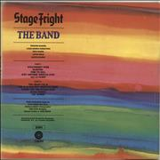 The Band Stage Fright UK vinyl LP
