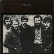The Band The Band - 2nd UK vinyl LP