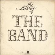 The Band The Best Of The Band USA vinyl LP