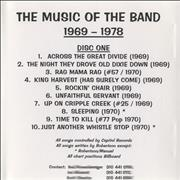 Click here for more info about 'The Band - The Music Of The Band 1969-1978'
