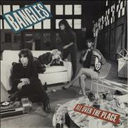 Click here for more info about 'The Bangles - All Over The Place - 2nd-Gold Promo Stamped'