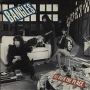 Click here for more info about 'The Bangles - All Over The Place - Gold promo stamped'