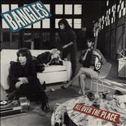 The Bangles All Over The Place UK vinyl LP