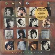 The Bangles Different Light - Yellow Hype Sticker UK vinyl LP