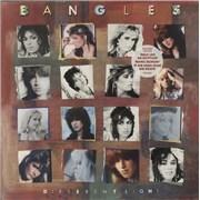 The Bangles Different Light - stickered p/s UK vinyl LP