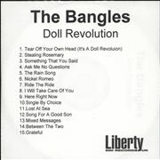 Click here for more info about 'The Bangles - Doll Revolution'