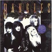 The Bangles Everything - Stickered sleeve UK vinyl LP