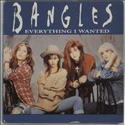 Click here for more info about 'The Bangles - Everyting I Wanted'