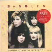 Click here for more info about 'The Bangles - Going Down To Liverpool + Debbi & Susanna Postcard'