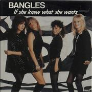 Click here for more info about 'The Bangles - If She Knews What She Wants'