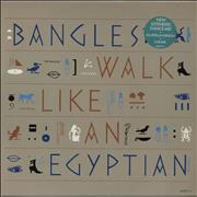 Click here for more info about 'The Bangles - Walk Like An Egyptian - Gold promo stamped'