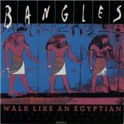 "The Bangles Walk Like An Egyptian - Remix UK 7"" vinyl"
