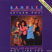 """The Bangles Walking Down Your Street - Double Pack UK 7"""" vinyl"""