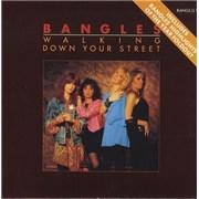 """The Bangles Walking Down Your Street - Gatefold UK 7"""" vinyl"""