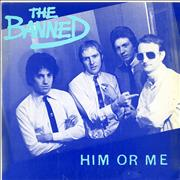 Click here for more info about 'The Banned - Him Or Me - A Label + p/s'