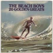 The Beach Boys 20 Golden Greats Greece vinyl LP